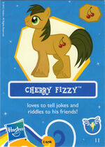 Cherry Fizzy collector card