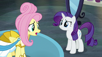 """Fluttershy """"I'm just sorry you had to leave"""" S8E4"""