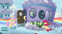 """Fluttershy """"can't you see what you're doing?!"""" S6E11"""