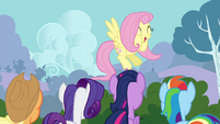 """Fluttershy """"did I mention how tiny they are"""" S4E16"""