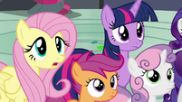 """Fluttershy """"is something wrong"""" S6E7"""