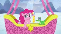 "Pinkie Pie ""that was a hard one, Gummy"" S7E11"