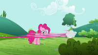 Pinkie Pie clone zooms off S3E3