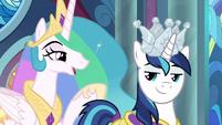 """Princess Celestia """"I asked our old captain"""" S9E4"""