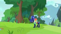 Princess Luna starting to get tired S9E13