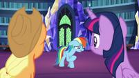 "Rainbow Dash ""I feel terrible"" S7E23"