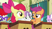 Scootaloo --that is a lot of work-- S6E14