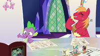 """Spike """"I told you, you can't do magic!"""" S6E17"""