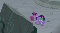 """Spike """"finding a whole set of ancient ruins"""" S7E25"""