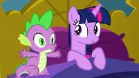 """Spike """"poof!"""" S5E13"""