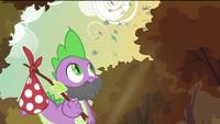 Spike with beard S2E21