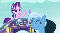 "Starlight and Trixie ""on the road to friendship"" S8E19"