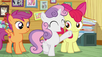 """Sweetie Belle """"you have the CMC guarantee!"""" S7E6"""