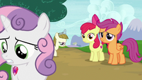 Sweetie Belle leaving her friends and Zipporwhill again S7E6