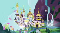 Alternate exterior shot of Canterlot EGFF
