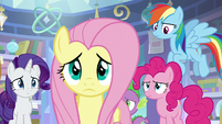 Fluttershy stepping forward S9E25