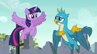 """Gallus """"a cool place to hang out?"""" S9E3"""