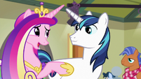 """Princess Cadance """"we're not changing diapers"""" S7E3"""