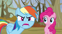 """Rainbow """"What are you looking at?!"""" S5E5"""