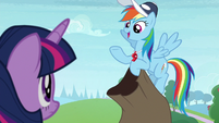 """Rainbow Dash """"what should I focus on?"""" S9E15"""