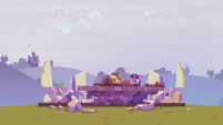 Spike --there's also supposed to be a castle-- S5E25