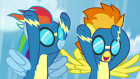 "Spitfire ""happy to help"" S7E7"