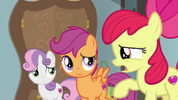 "Apple Bloom ""did we suggest knot-tying?"" S9E12"