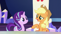 """Applejack """"somethin' to do with the new baby"""" S6E1"""