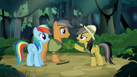 "Daring Do ""other side of the temple"" S6E13"