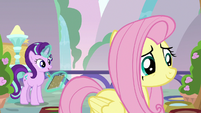 Fluttershy and Starlight approve of Doc's class S9E20