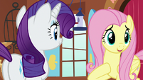 Fluttershy thanks her friends for recommendations S7E5