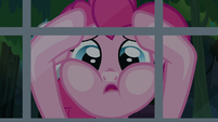 """Pinkie """"shaking her hoof and cursing the heavens"""" S7E18"""