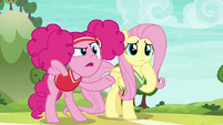 """Pinkie Pie asking """"serious how?"""" S6E18"""