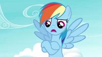 """Rainbow Dash """"an experienced flyer like me"""" S4E21"""