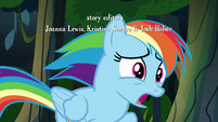 """Rainbow Dash """"the A. K. Yearling I know"""" S7E18"""