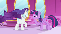 """Rarity """"actually, there was no spell"""" MLPS1"""