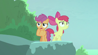 Scootaloo -thought for sure he came this way- S8E6
