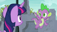 """Spike """"I thought it was destroyed!"""" S9E3"""