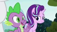 "Spike ""lucky we got here in time"" S8E2"