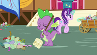 """Spike """"never want to see me again"""" S7E15"""