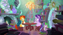 Starlight --You always knew so much about magic-- S6E2