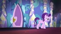 Starlight sadly walks away from Sunburst's room S7E24