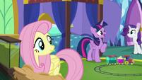 Twilight -when he was a colt as a surprise!- S5E19