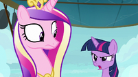 Twilight Sparkle getting fed up S7E22