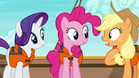 Applejack --all those games and things for us-- S6E22