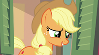 Applejack --maybe leave for an hour-- S6E10