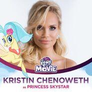 Kristin Chenoweth jako księżniczka Skystar