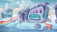 Mr. and Mrs. Shy's house exterior S6E11