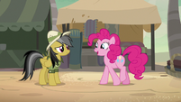 """Pinkie Pie """"glad you're back to your old self"""" S7E18"""