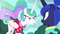 Princess Celestia resentful of Luna S9E13